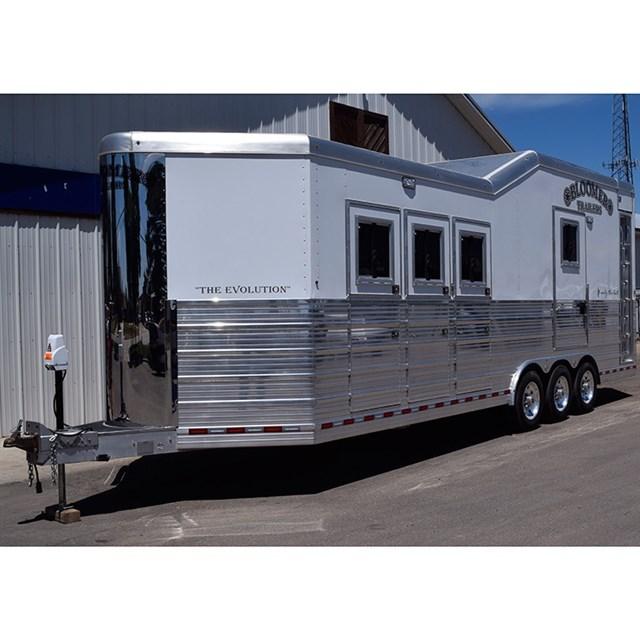 Amarillo Car Dealers >> 2015 Bloomer Trailers 3 Horse Bloomer Car Hauler Combination Trailer